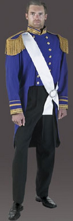 Adult Story Book Prince Costume