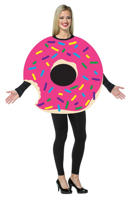 Adult Strawberry Donut Costume