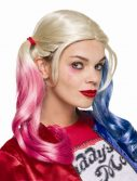 Adult Suicide Squad Harley Quinn Wig