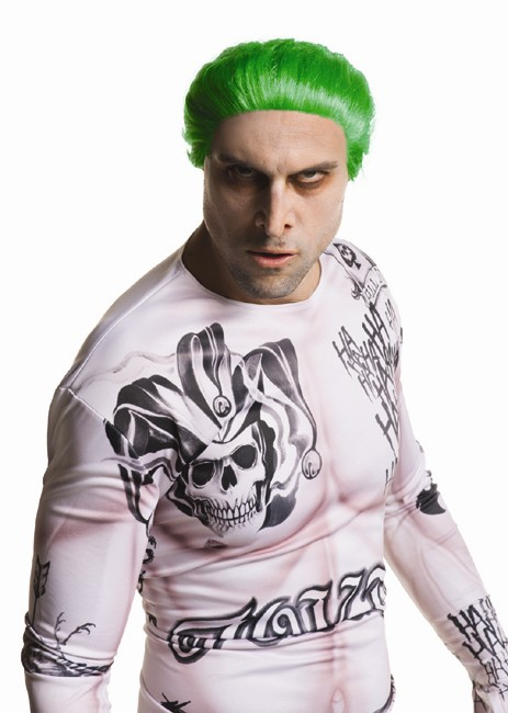 Adult Suicide Squad The Joker Wig