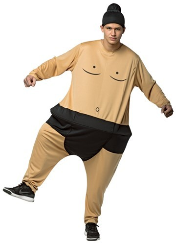 Adult Sumo Wrestler Hoopster Costume