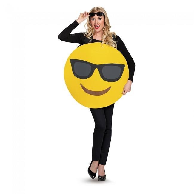 Adult Sunglasses Emoji Costume