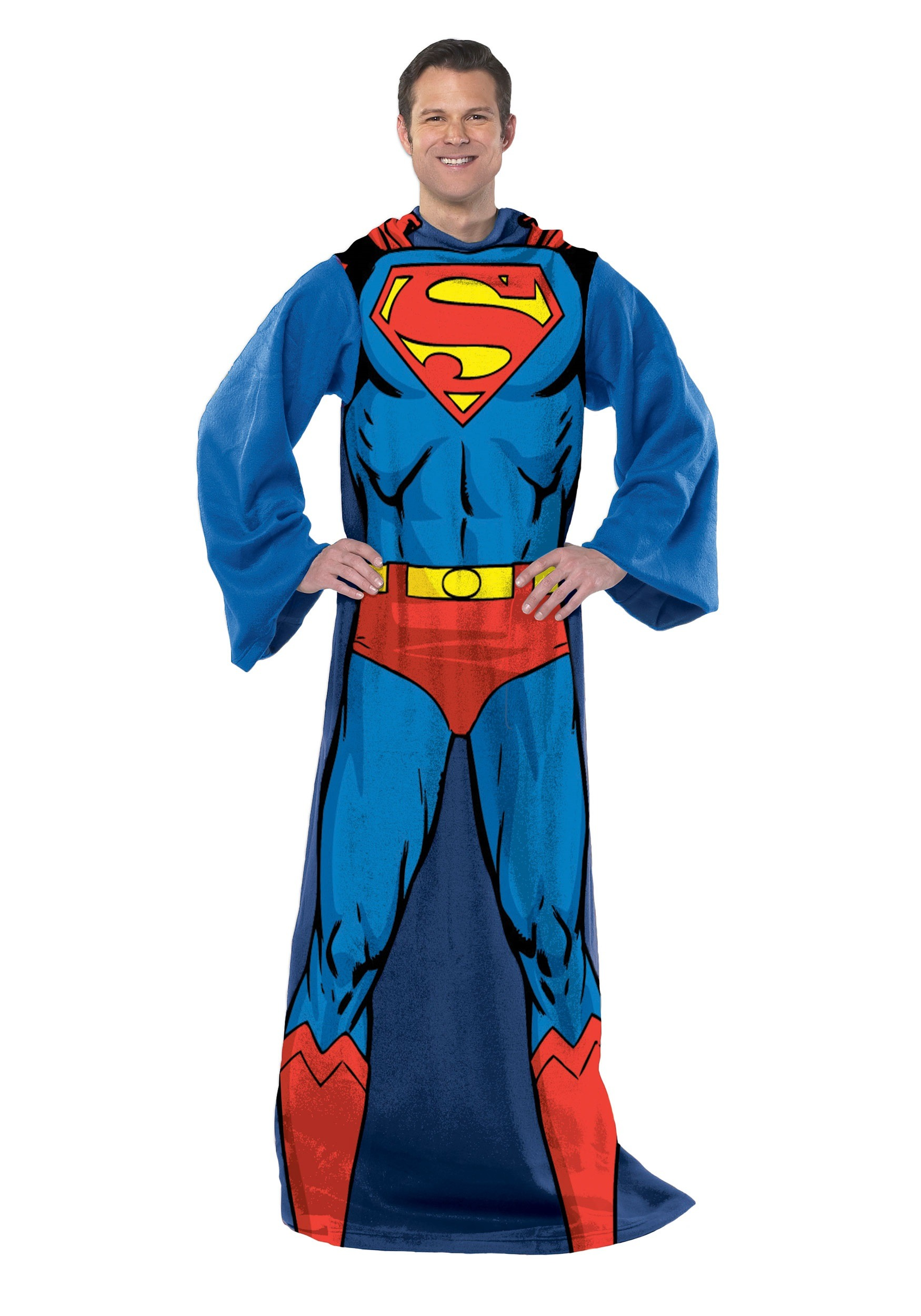 Adult Superman Comfy Throw