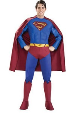 Adult Supreme Superman Returns Costume
