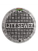 Adult TMNT Sewer Cover Shield