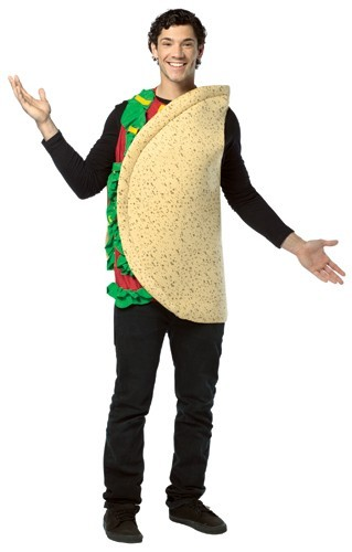 Adult Taco Costume - Lightweight