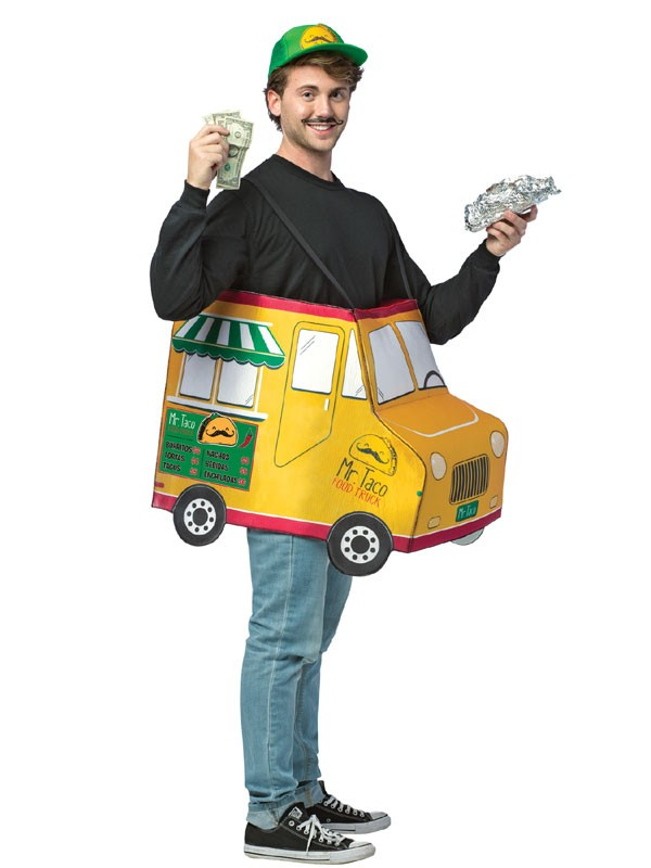 Adult Taco Food Truck Costume