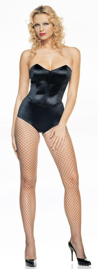 Adult Teddy Bustier Strapless Costume