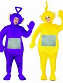 Adult Teletubbies Costume - 4 Pack