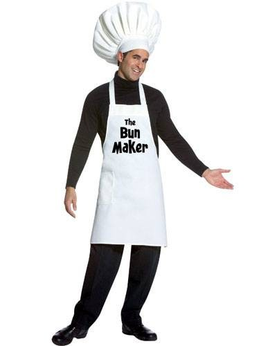 Adult The Bun Maker Costume