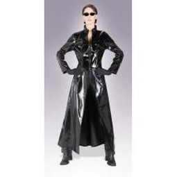 Adult The Matrix Trinity Costume