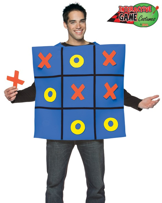 Adult Tic-Tac-Toe Board Costume
