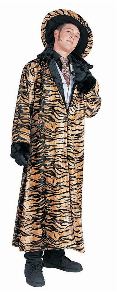Adult Tiger Pimp Costume