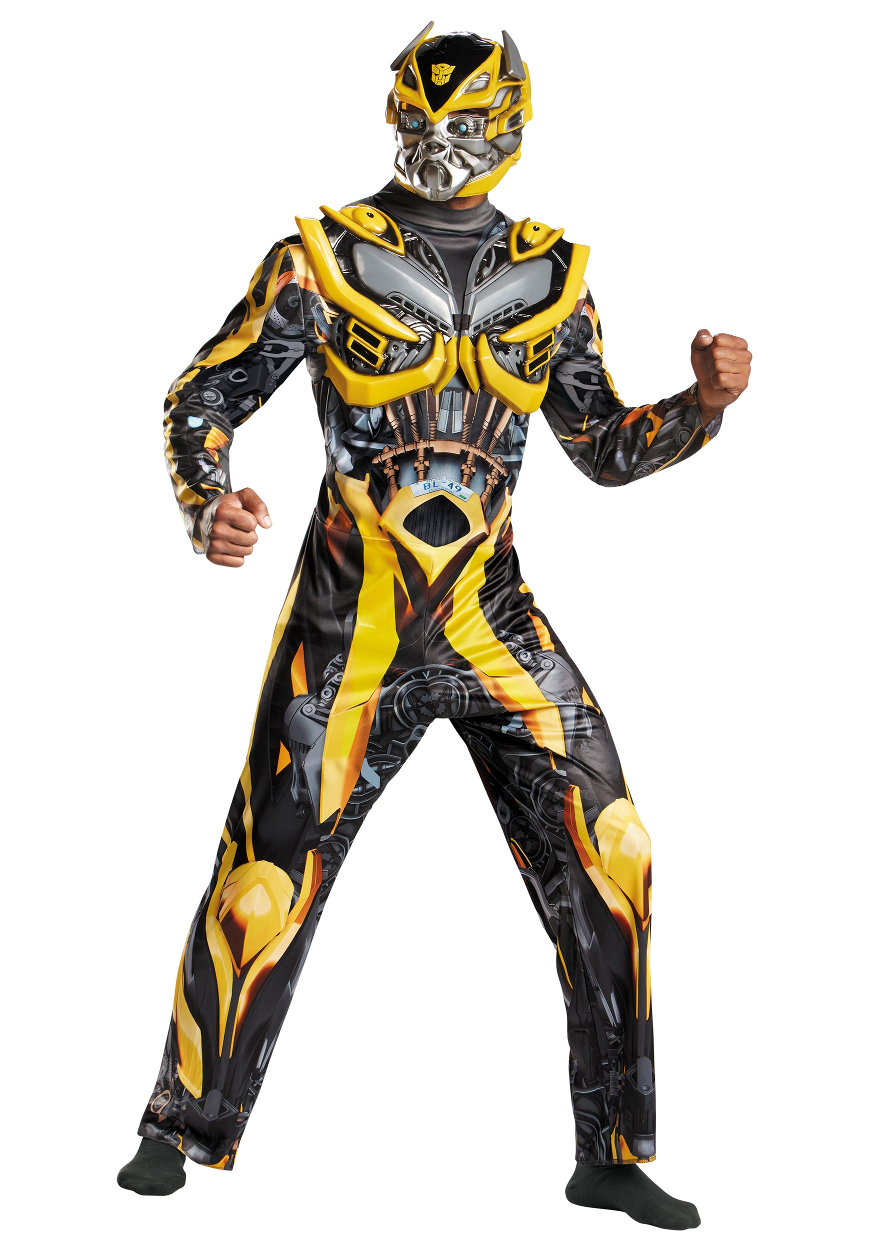 Adult Transformers 4 Deluxe Bumblebee Costume