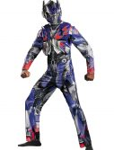 Adult Transformers 4 Deluxe Optimus Prime Costume