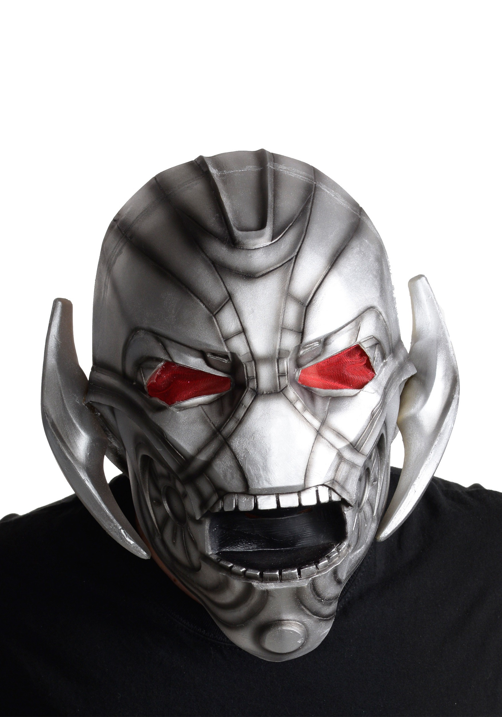 Adult Ultron Avengers 2 Deluxe Latex Mask
