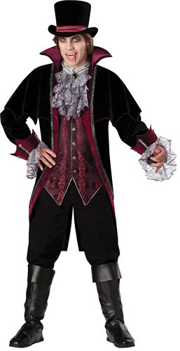 Adult Vampire Costume - Vampire of Versailles