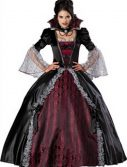 Adult Vampire Costume - Vampiress of Versailles
