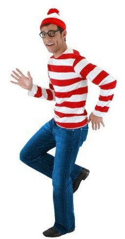 Adult Waldo Costume