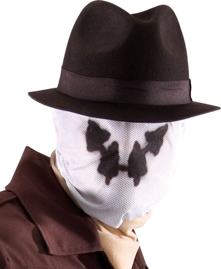 Adult Watchmen Rorschach Mask