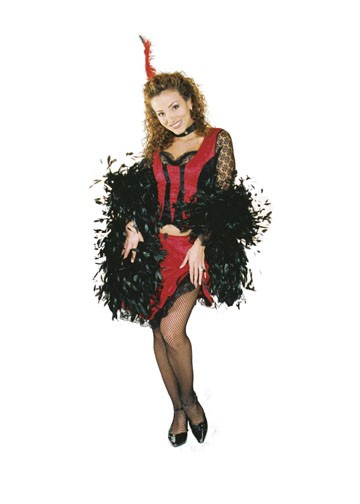 Adult Western Saloon Lady Costume