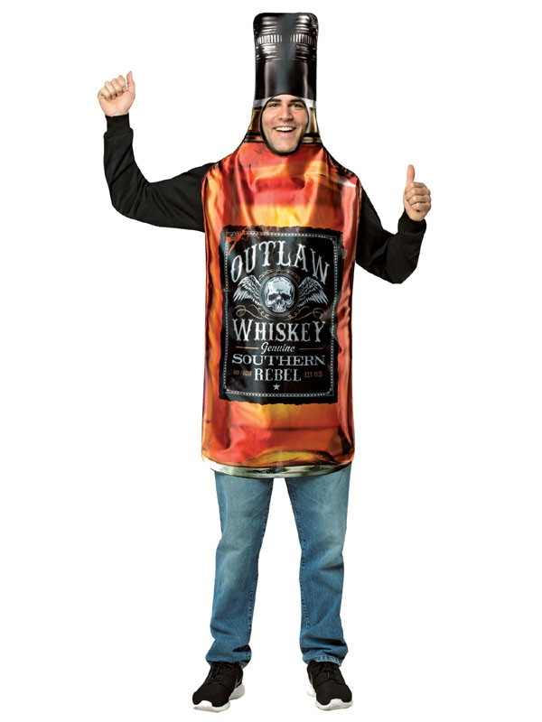 Adult Whisky Bottle Costume