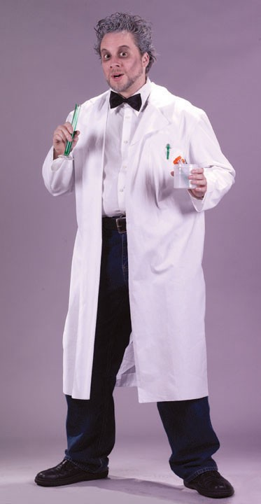 Adult White Lab Coat Costume