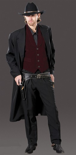 Adult Wild West Gunslinger Costume