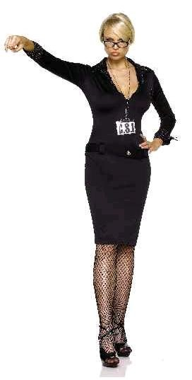 Adult Woman CSI Costume