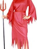 Adult Woman's Classic Devil Costume