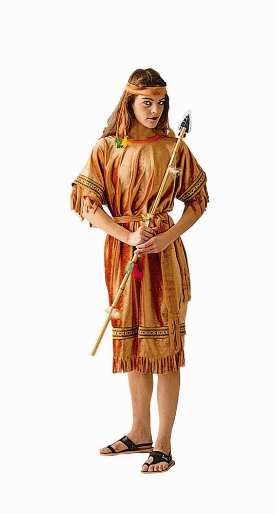 Adult Woman's Deluxe Native American Costume