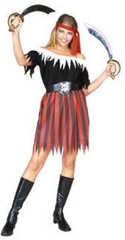 Adult Woman's Pirate Halloween Costume