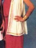 Adult Woman's Toga Costume