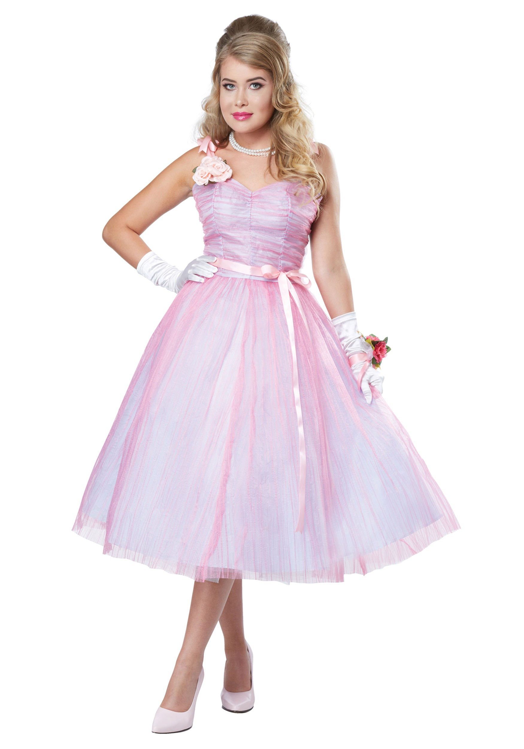 Adult Women's 50s Prom Beauty Costume