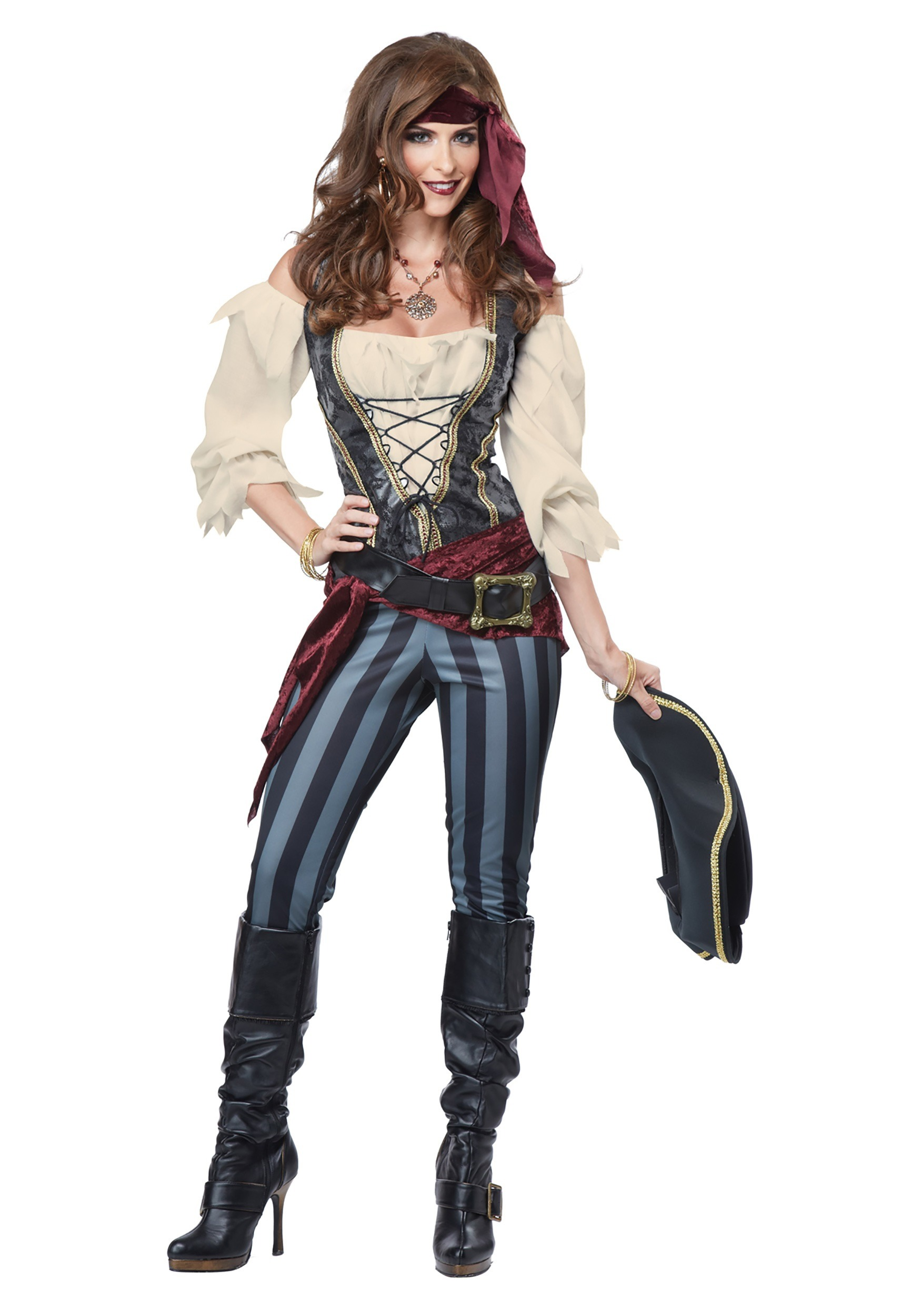 Adult Women's Brazen Buccaneer Costume