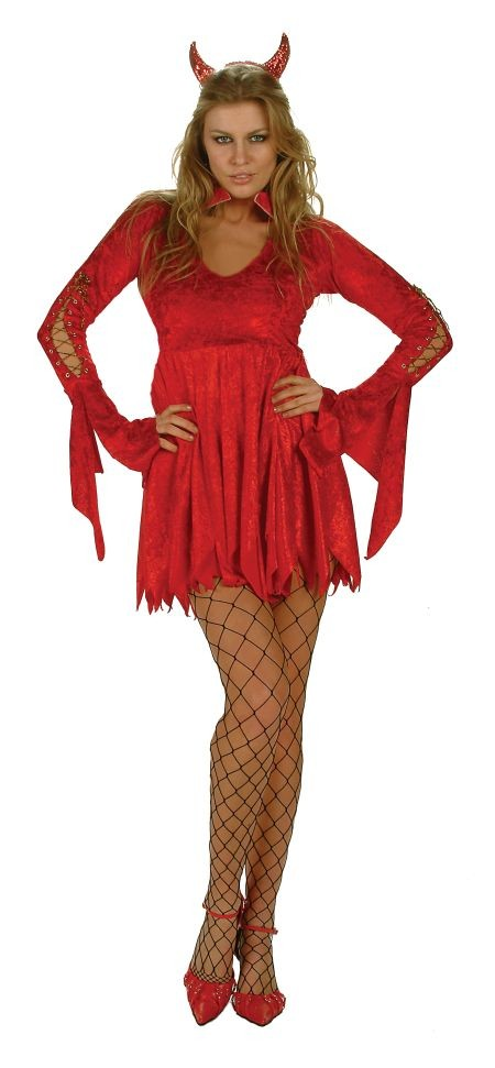Adult Women's Devil Costume