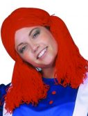 Adult Women's Rag Doll Wig