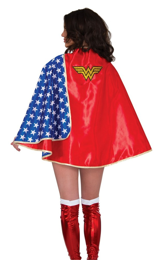 Adult Wonder Woman Deluxe Cape
