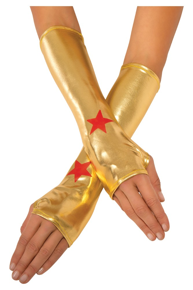 Adult Wonder Woman Gauntlets