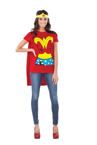 Adult Wonder Woman T Shirt