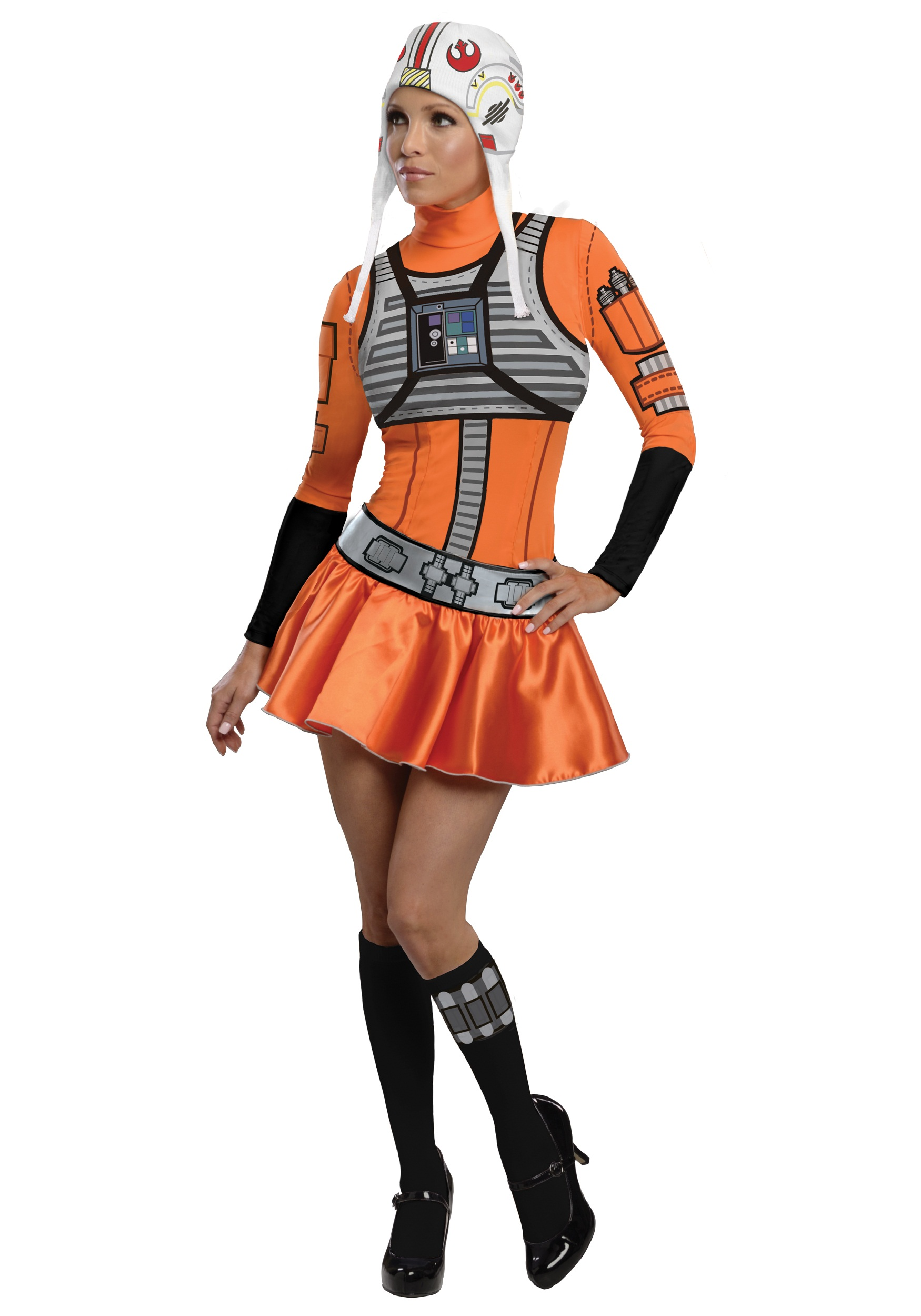 Adult X-Wing Fighter Dress Costume