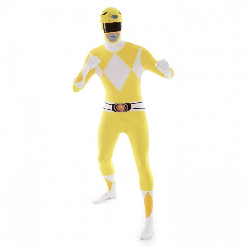 Adult Yellow Power Rangers Morphsuit
