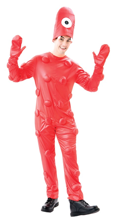 Adult Yo Gabba Gabba Muno Male Costume