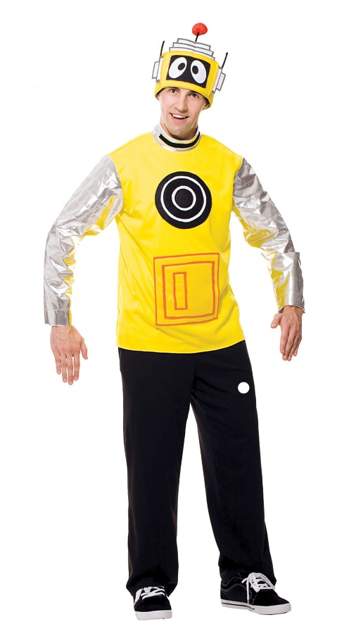 Adult Yo Gabba Gabba Plex Male Costume