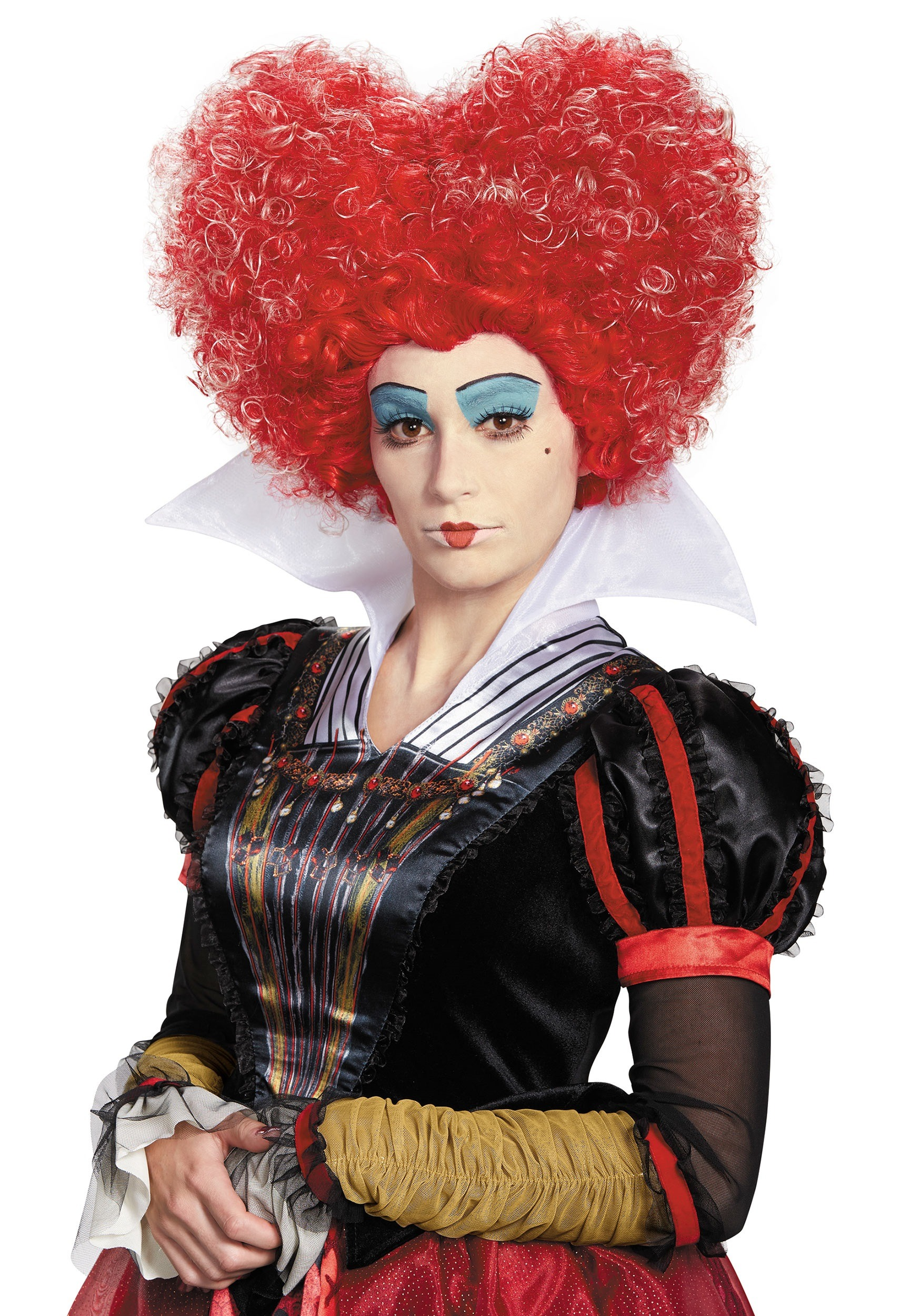 Alice in Wonderland Red Queen Adult Wig
