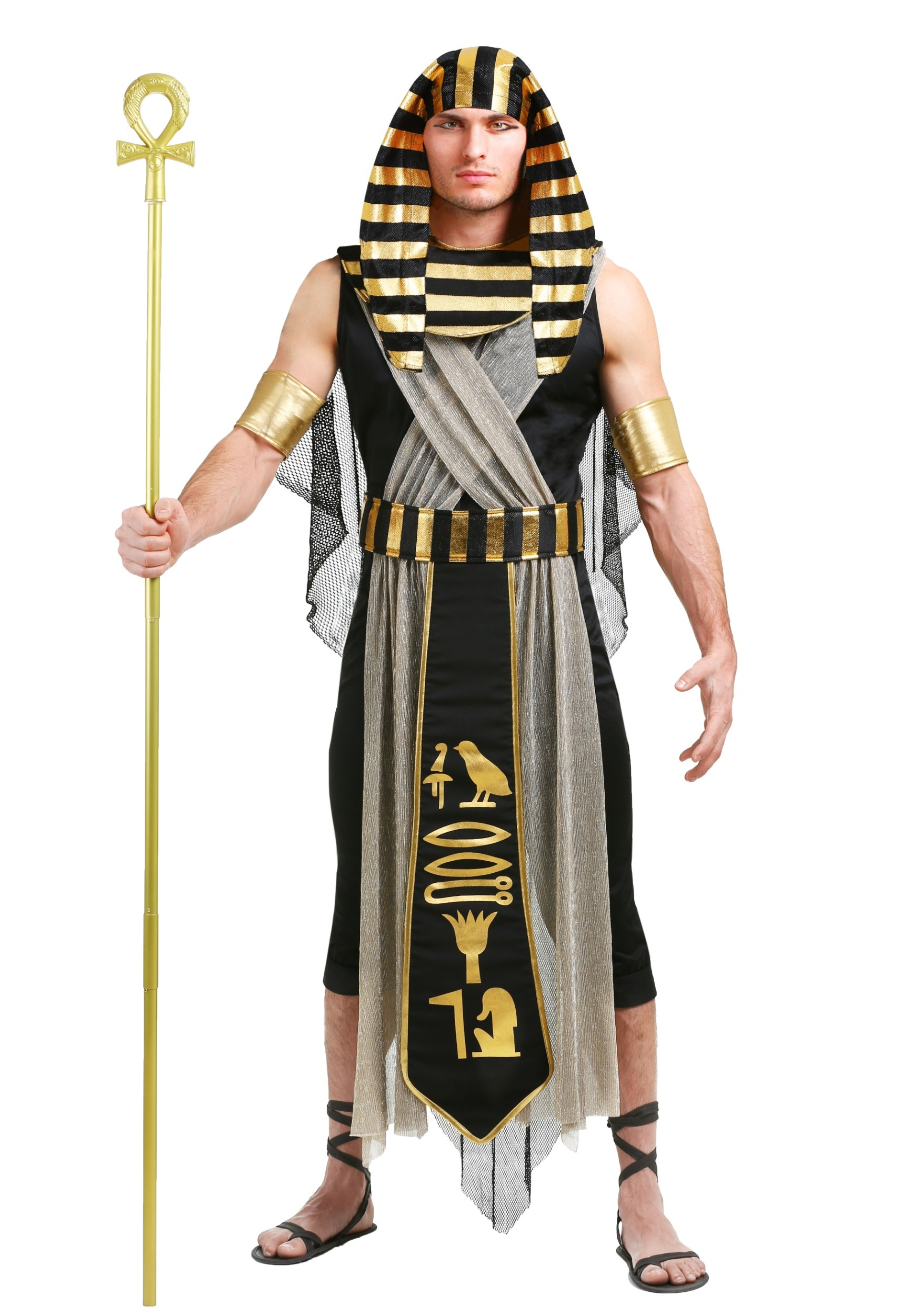 All Powerful Pharaoh Plus Size Men's Costume