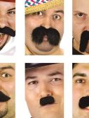 Assorted Costume Mustaches