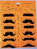 Assorted Mustache Card