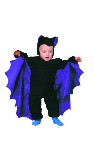 Baby Bat Costume - Purple Wings