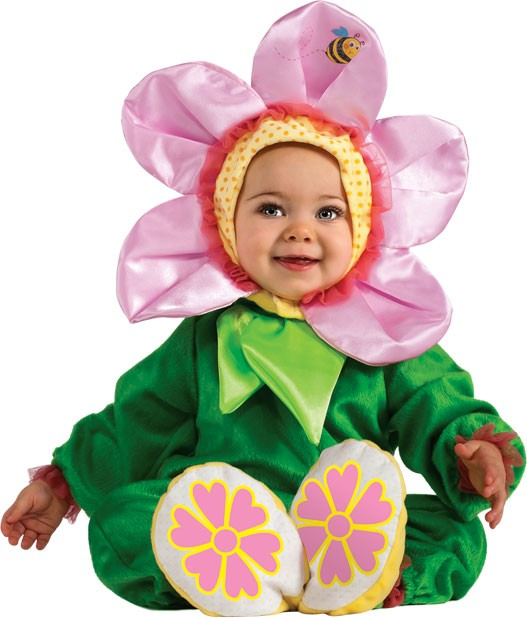 Baby Pink Pansy Flower Costume